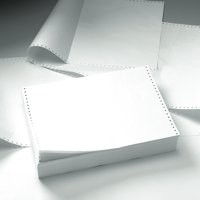 5 Star Listing Paper 2-Part Microperforated 56/57gsm Carbonless A4 White/Yellow [1000 Sheets]