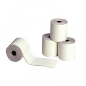 5 Star Adding Machine Roll Single Ply 55gsm W57xD57xCore12.7mm Ref 295640 [Pack 20]