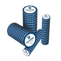 5 Star Fax Roll Thermal with 1m Warning Strip W210mmxL30mx12.7mm Core [Pack 6]
