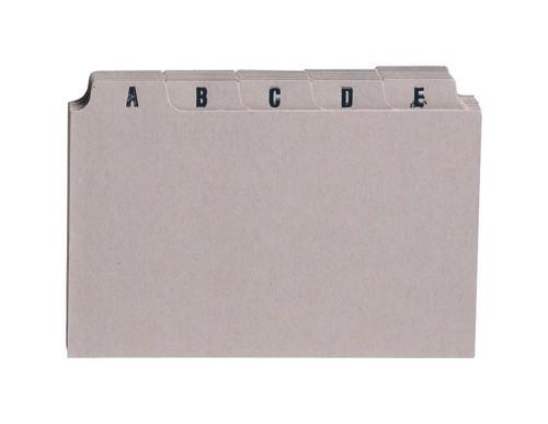 5 Star Guide Card Set 8x5 A-Z Buff