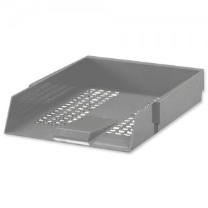 5 Star Letter Tray Grey