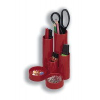 Image for 5 Star Desk Tidy Red