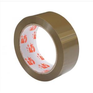 5 Star Packaging Tape Polypropylene 38mm x 66m Buff [Pack 6]