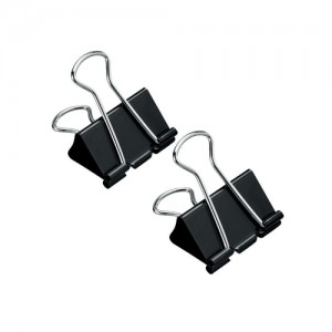 5 Star Foldback Clips 32mm Pk12