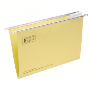5 Star Suspension Files Fcap Yellow Pk50