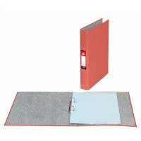 Image for 5 Star Ring Binders 2 O-Ring Size 25mm A4 Red [Pack 10]