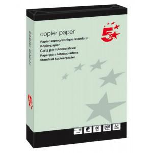 5 Star Office CopierPpr A4 Gn 80gsmPk500
