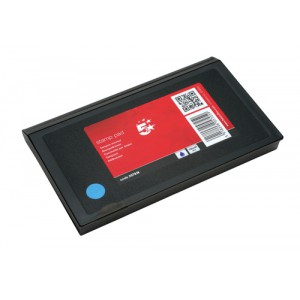 5 Star Stamp Pad 158x90mm Blue Ref 419562