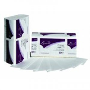 2Work Z-Fold Hand Towel 2-Ply White 242x240mm Pack of 2250 HTL003