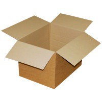Packing Carton Single Wall Strong Flat Packed 152x152x178mm [Pack 25]