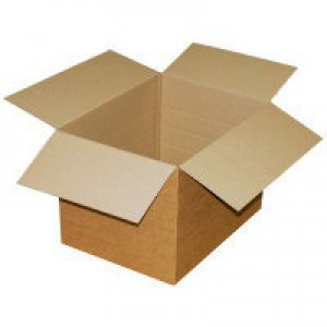 Packing Carton Single Wall Strong Flat Packed 330x254x178mm [Pack 25]