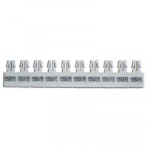 Versapak Arrow Seals Numbered White [Pack 1000]