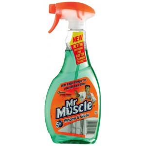 Mr Muscle Window Trigger Spray Bottle 500ml Ref 91579