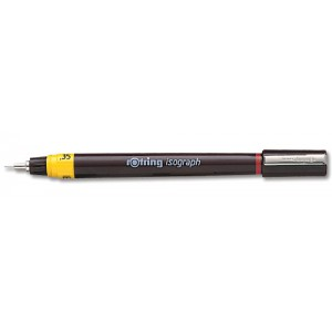 Rotring Isograph for Pen Precise Line Width to ISO 128 and ISO 3098/1 0.25mm Nib Code S0202130