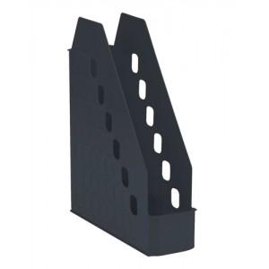 Avery Basics Magazine Rack Low Front Design W78xD246xH310mm Black Ref 1135BLK