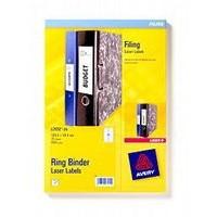 Avery Filing Labels Laser for Ring Binder 18 per Sheet 100x30mm Ref L7172-25 [450 Labels]