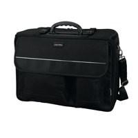 Lightpak The Flight Pilot Case Overnight Detachable Laptop Sleeve Nylon Capacity 17in Black Ref 46008