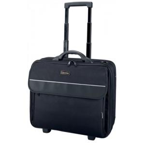 Lightpak Treviso Laptop Trolley Overnight Nylon Capacity 17in Black Ref 92702