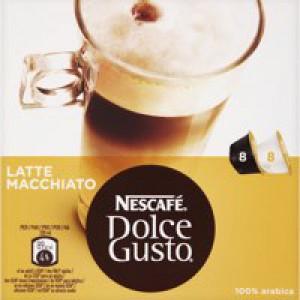 Nescafe Latte for Nescafe Dolce Gusto Machine Code 12019858