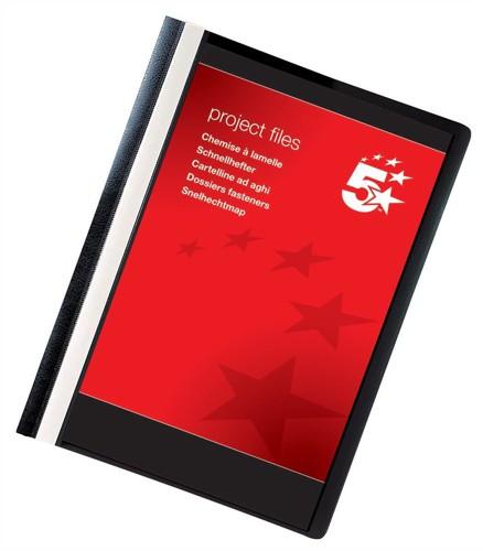 5 Star Project File A4 Black