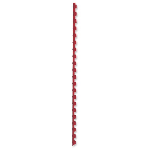 5 Star Plastic Combs A4 10mm Red Pk100