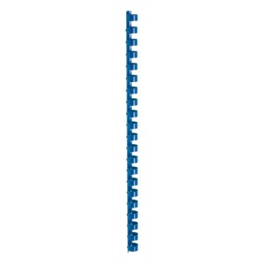 5 Star Plastic Combs A4 12mm Blue Pk100