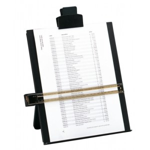 5 Star Copyholder A4 Black