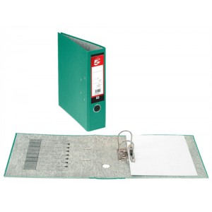 5 Star Office Lever Arch File Fcap Green