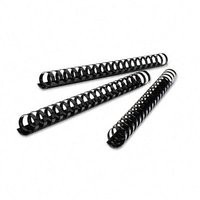 GBC Binding Combs 45mm A4 21-Ring Black Pack 50 Code 4028186