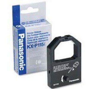 Panasonic Ribbon Cassette Fabric Nylon Black [for KXP1080 1081 1150 1170 1180 1595 1695] Ref KXP115