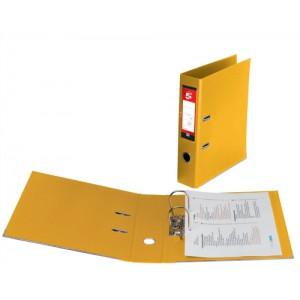 5 Star Premier PVC L/Arch File A4 Ye