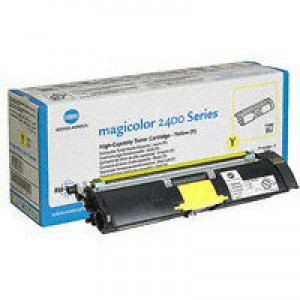 Konica Minolta Magicolor 2430DL/2400W/2500W Toner Cartridge High Capacity Yellow 1710589-005