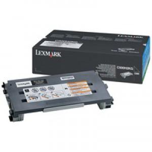 Lexmark C500 High Yield Toner Cartridge Black C500H2KG