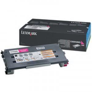 Lexmark C500 High Yield Toner Cartridge Magenta C500H2MG