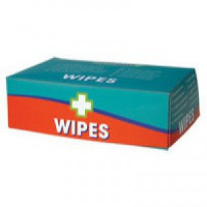 WC Alcohol Free Wipes pk 100 1602014