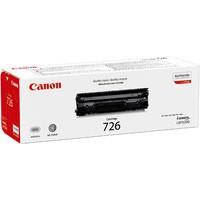 Canon CRG 726 Laser Toner Cartridge Page Life 6400pp Black Code 3483B002AA