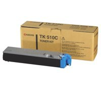 Kyocera TK-510C Laser Toner Cartridge Page Life 8000pp Cyan Ref 1T02F3CEU0