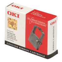 Oki ML320/390 Flat Bed Black Nylon Ribbon Code 09002310