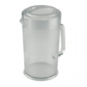 Jug Polycarbonate with Lid Dishwasher Safe 1.9 Litre Clear