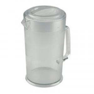 Jug Polycarbonate with Lid Dishwasher Safe 1.9 Litre Clear