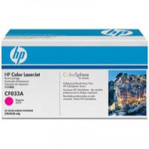 HP No.646A Laser Toner Cartridge Magenta Code CF033A