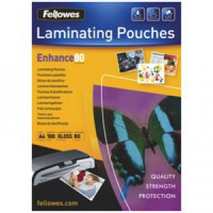 GBC Hi-Speed Laminating Pouches Premium Quality 30percent Faster 150 Micron A4 Ref 3747347 [Pack 100]