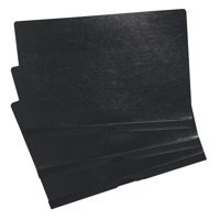 5 Star Clip Folder 3mm Spine for 30 Sheets A4 Black [Pack 25]
