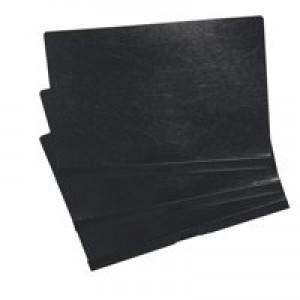 5 Star Clip Folder 6mm Spine for 60 Sheets A4 Black [Pack 25]