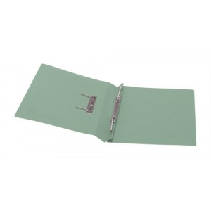 5 Star Transfer Spring File 315gsm 38mm Foolscap Green [Pack 50]