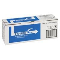 Kyocera TK580C Toner Page Life 2800pp Cyan Code 1T02KTCNL0