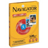 Navigator Colour Documents Paper Ultra Smooth 120gsm 250 Sheets A4 White Code NAV0330