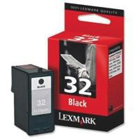 Lexmark No.32 Inkjet Cartridge Black Code 18CX032E