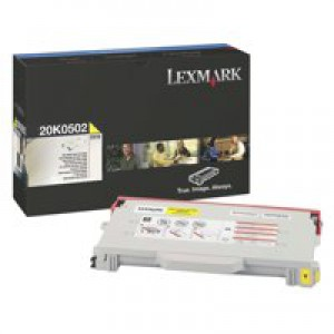 Lexmark C510 Standard Yield Toner Cartridge Yellow 20K0502