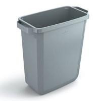 Durabin Slim Bin 60 Litres Grey Ref S10496050